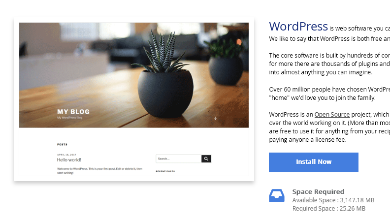 How to Install WordPress using Softaculous - Knowledgebase